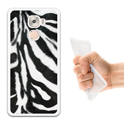WoowCase LeTV LeEco Le Pro 3 Hülle, Handyhülle Silikon für [ LeTV LeEco Le Pro 3 ] Tier Zebradruck Handytasche Handy Cover Case Schutzhülle Flexible TPU - Transparent