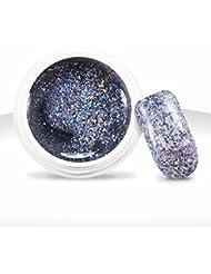 Ocibel - Gel UV / LED Couleur Très Pailleté Diamant - 5 ml - Manucure, Faux Ongles et Nail Art