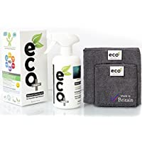 Ecomoist - Kit de limpieza natural para pantallas (500 ml):  televisor, LCD, LED, ordenador, tabletas, smartphones, ordenadores portátiles... 500 ml