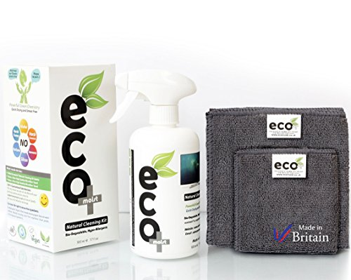 Ecomoist Naturel 500 ml kit de nettoyage pour écran TV LCD LED Ordinateur tablettes smartphones ordinateurs portables