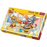 TREFL - Puzzle Tom Y Jerry de 100 piezas (TR16196)