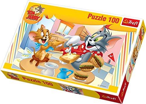 Puzzle Tom i Jerry Pyszne sniadanko 100 Tom Jerry Spiel