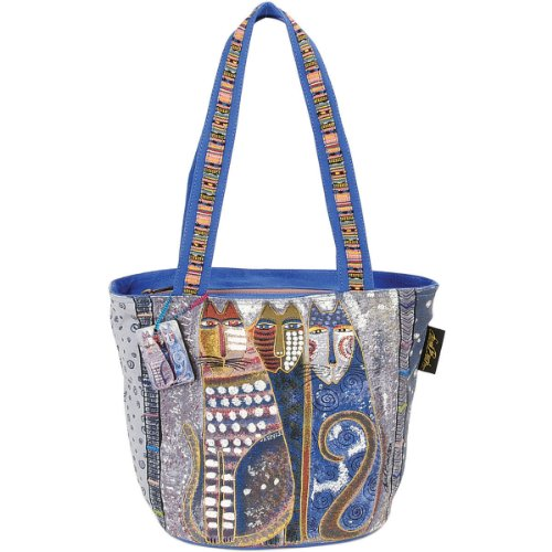 laurel-burch-laurel-burch-medium-tote-zipper-top-14-inch-by-6-inch-by-9-1-2-inch-autumn-felines
