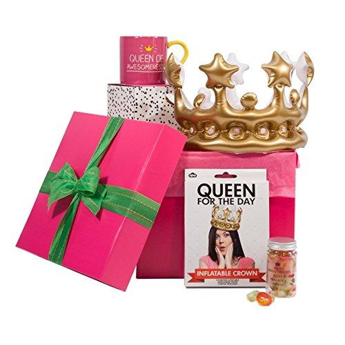 Ihre Königliche Hoheit Geschenk-Box–Behindert für Ihre–Passform für ein Queen,-Einzigartiges Geschenk Idee für Geburtstage, Weihnachten, Muttertag–Tolles Geschenk für Mama, Schwester, Freund, Tochter, Kollegen (Brownies In Einer Tasse)