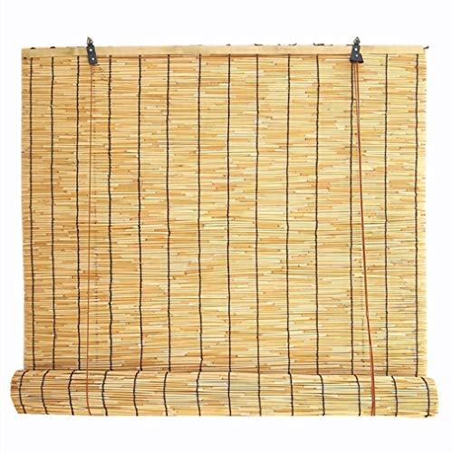 KDDFN Bambusvorhang Fenster Sichtschutz Rollos Innen/Außen/Garten/Fenster,Mehrere Größen