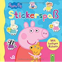 Peppa Pig Stickerspaß: Mit lustigen Rätseln