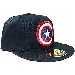 Marvel gorra de visera - Mixta - Azul (Marina) - Un tamaño (fabricante One Size)