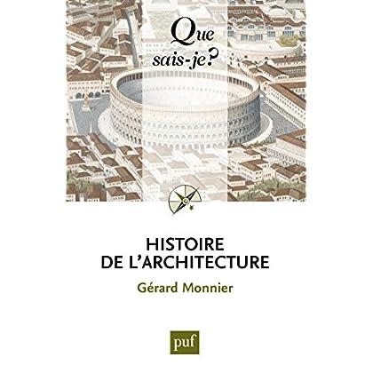 Histoire de l'architecture: « Que sais-je ? » n° 18