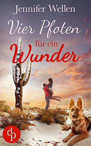 Buchseite und Rezensionen zu 'Vier Pfoten für ein Wunder (Liebesroman)' von Jennifer Wellen