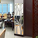 Best Decals for the Wall Mirrors - HLHN Wall Stickers Mirror Decal Art Mural Waterproof Review