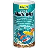 Tetra Pond MultiMix 1 l, Flockenfutter, Hauptfutter