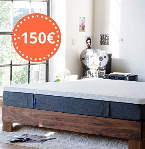 Emma Colchón 150x190 - Colchones visco de Espuma Cama Doble Memory Foam - Transpirable y máximo Confort (Disponible en 19 Medidas)