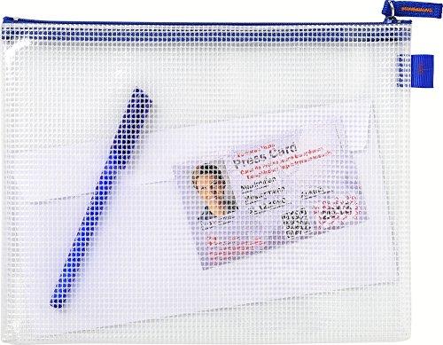 Exacompta 56630e–Custodia di trasferimento con chiusura con cerniera Zip, A5