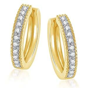 Meenaz Jewellery Bali Ear Rings For Girls Hoop Earrings For Women MenIn American Diamond Jewellery For Women set Bali earrings 146