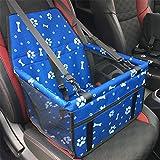 HYD Pet Car Bag-tragbare atmungsaktive verstellbare Riemen Sicherheit grün Haustier Tasche Haustier Matte Netzbeutel Verdickung Vordersitz Tasche Haustier Tasche
