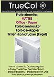 250 Blatt 120g /m² DIN A3 Professionelles MATTES Papier für Farblaserdrucker und Farblaserkopierer Kopierpapier Offset Laserdruck S/W