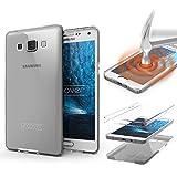 Samsung Galaxy A3 (2015) Handyhülle von Original Urcover® in der TPU Ultra Slim 360 Grad Edition Galaxy A3 (2015) Schutzhülle Case Cover Etui Klar [DEUTSCHER FACHHANDEL]
