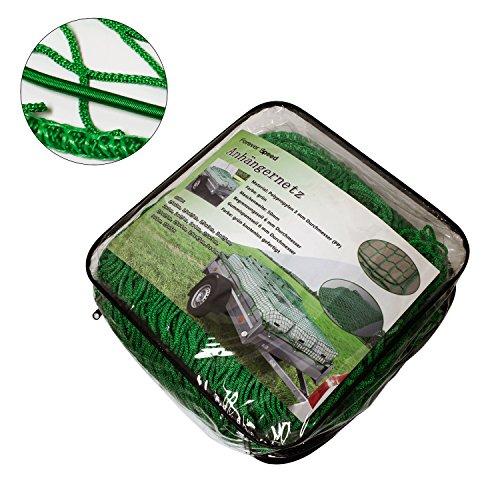 SPEED Anhängernetz Gepäcknetz zur Ladungssicherung 1,5 x 2 m bis 3,5 x 5 m 1,5x2,5m