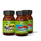Echt Vital OPC - 1 x 60 Kapseln + Echt Vital Vitamin C (Acerola) - 2 x 60 Kapseln ECHTES DREAMTEAM - Starterpaket