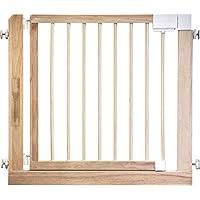 IB-Style - Cancello di sicurezza / Cancelletto securella Kolby | 80 - 100 cm | sigillato doppio | legna naturale