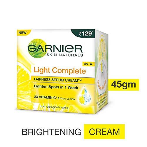 Garnier Light Complete Fairness Serum Cream, 45g