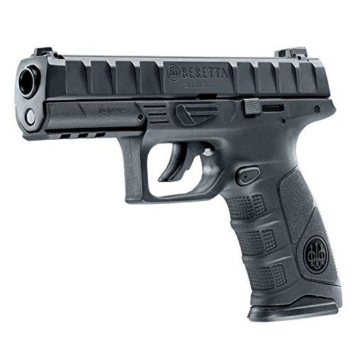 Pistola semiautomatica perdigón Beretta APX Negra. Calibre 4,5mm. 3,3 Julios. Co2.