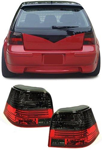Carparts-Online 12987 Klarglas Celis Rückleuchten rot schwarz