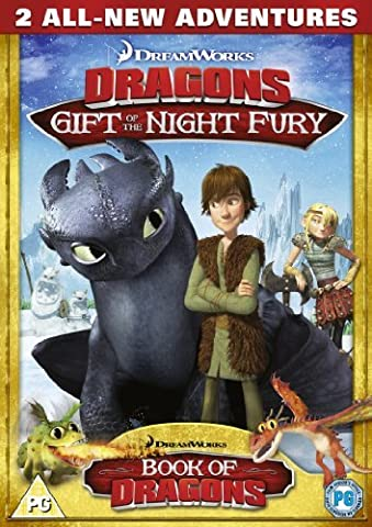 Dreamworks Dragons: Gift of the Night Fury - Two All New Adventures [DVD] by Tom Owens