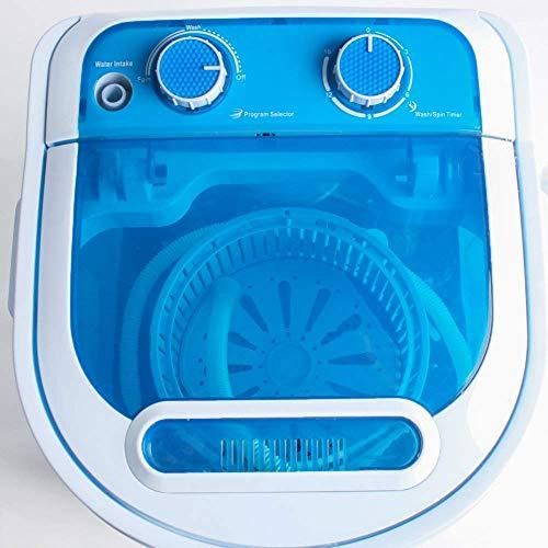 Display4top 3,2 Kg Waschmaschine Mini Waschmaschine