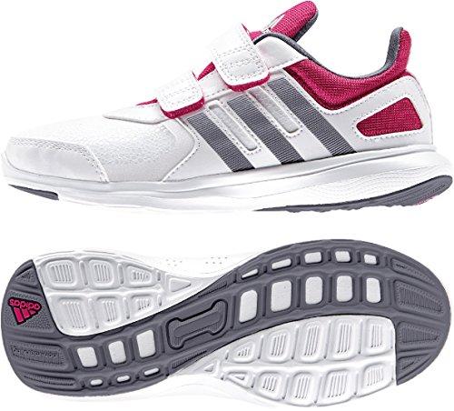 adidas , Jungen Leichtathletikschuhe  Schwarz FTWWHT/ONIX/BOPINK