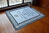 Doppelseitige Dicken Teppich, Wandbehang Tapeten Tarot Hippie Mandala-böhmische Vorhang Bettdecke Sofa Handtuch Wohnzimmer Schlafzimmer Raumdekor-B 125x150cm(49x59inch)