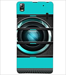 PrintDhaba Speaker D-3493 Back Case Cover for LENOVO A7000 (Multi-Coloured)
