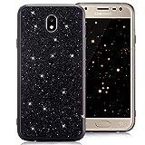 Compatible pour Etui Samsung Galaxy J7 2017 Coque Silicone Glitter Slim Résistant...