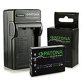 PATONA Cargador + Premium Batería NP-95 para Fuji FinePix F30   F31fd   Real 3D W1   X-S1   X100S