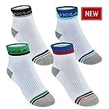 Joola Socken Ferrara (weiß-grün, XL)