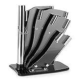 ZLR Modern Fashion Cuchillo de acrílico Cuchillo Cuchillo de Cocina Cuchillo de Cocina Cuchillo Cortador Herramienta Titular