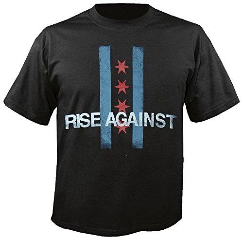 RISE AGAINST - Flag - T-Shirt Größe M -