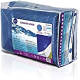 Gre CPROV505 - Cobertor de Verano para Piscina Ovalada de 500 x 300 cm, Color