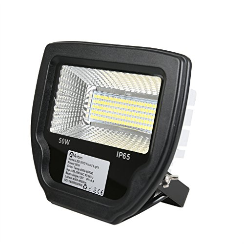 Anten LED Flutlicht Strahler Licht 50W Weiß IP65 Wasserdichte 4000-4500LM