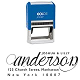 Custom Family Address Stamp Personalized Rubber Stamp Self Ink Return Address Engagement Gift by Printtoo