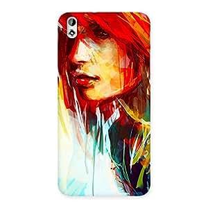 NEO WORLD Remarkable Art Girl Beauty Back Case Cover for HTC Desire 816s