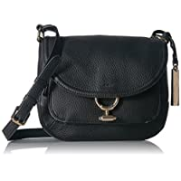 Vince Camuto Crossbody Bag for Women, Black (VC-MAKA-CB-001)
