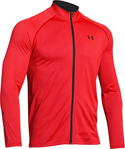 under-armour-tech-veste-zippe-rocket-red-fr-xl-taille-fabricant-xl