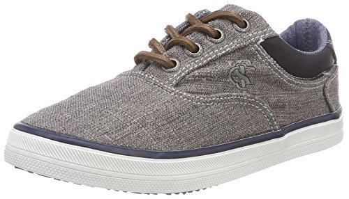 TOM TAILOR Jungen 4870104 Sneaker, Grau (Grey), 33 EU