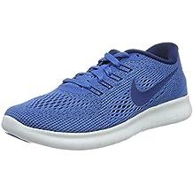 buy popular 0a471 0ed77 Nike Damen Free Rn Laufschuhe Bianco