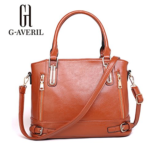 G-AVERIL, Borsa a mano donna Nero Black Brown
