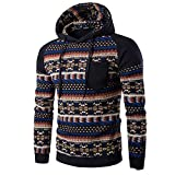 Clearance Sale [M-2XL] ODRDღ Hoodie Männer Sweatshirt Herren Retro Sweater Outwear Sweatjacke Parka Cardigan Lässige Mantel Kapuzenpulli Pulli Pullover Langarmshirts Jacke Hooded Anzug Blazer Top