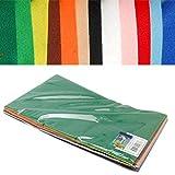 Filzplatten Multipack 20x30 cm 1 mm dick 12 Bögen