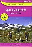 Fjällkartan 1 : 100 000 Z6 Storlien - Ljungdalen Bergwanderkarte - Norstedts kartor