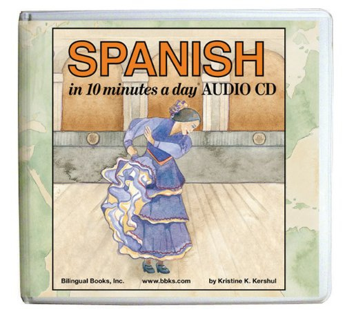 10 minutes a day® AUDIO CD Wallet (Library Edition): Spanish (10 Minutes a Day Series)